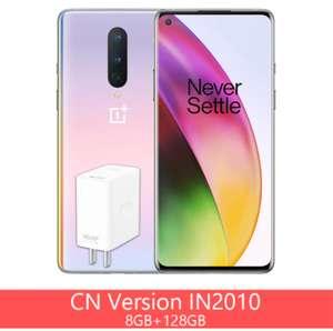 "Smartphone 6.55"" OnePlus 8 5G (Version CN) - full HD+ 90 Hz, SnapDragon 865, 8 Go de RAM, 128 Go (310€ via Code FRJUN250)"