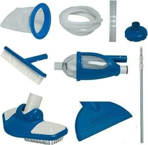 Kit d'accessoires d'entretien pour piscine hors-sol Intex Deluxe Vac+