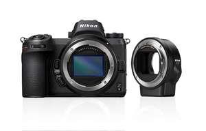 Nikon Z6 FX-Format Mirrorless + Adaptateur de Monture FTZ (matospascher.com)
