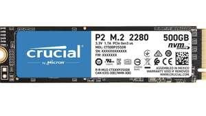 SSD interne M.2. Nvme Crucial - 500 Go