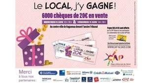 Chèques cadeaux CAP-Alsace d'une valeur de 20€ à 15€ - Haguenau et Schweighouse (67) - CAP-Alsace.com