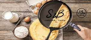 1 crêpe salée achetée = 1 crêpe salée offerte (à emporter) - SB Crêpes Sainte-Geneviève-des-Bois (91)
