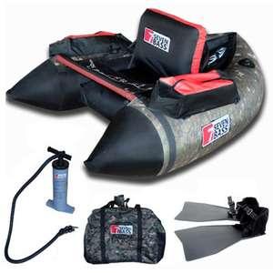 Pack Bateau de pêche Float tube Seven Bass NRV + Accessoires