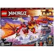 Jeu de construction Lego Ninjago - L'Attaque du Dragon de feu avec Mini Figurines Kai, Zane et NYA 71753 (via 9,98€ sur la carte fidélité)