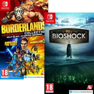 Borderlands Legendary Collection ou Bioshock The Collection sur Nintendo Switch