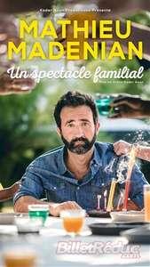 """Billet pour le spectacle de Mathieu Madenian """"Un Spectacle Familial"""" - le 03 juillet, à La Cigale Paris 18ème (75)"""