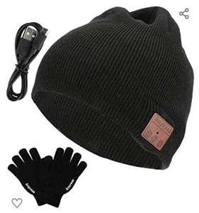 [Prime] Bonnet Anpress avec haut-parleurs Bluetooth intégrés + Gants tactiles (Vendeur Tiers)