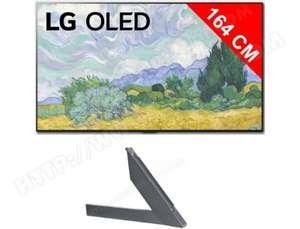 "TV OLED 65"" LG OLED65G16LA (4K UHD, 100 Hz, Dolby Vision IQ & Atmos, Smart TV) + Kit pieds ANGXDV65 (Via remise panier)"