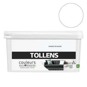 Pot de peinture acrylique Tollens Couleurs - 5 L, différents coloris