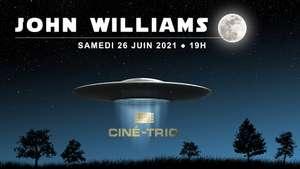 Concert Ciné-Trio John Williams en streaming - le 26 juin (19 h) - RecitHall.com