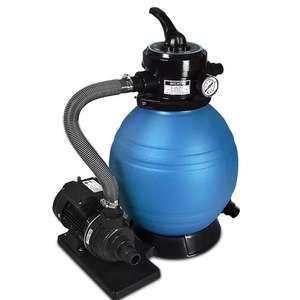 Pompe filtre à sable et particule Deuba - 10.200l/h (deubaxxl.fr)