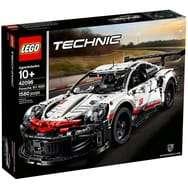 Jeu de construction Lego Technic - Porsche 911 RSR (Via 30€ sur la carte fidélité)