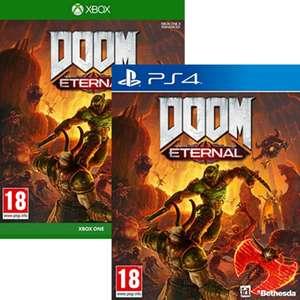 Sélection de jeux vidéo en promotion - Ex : Doom Eternal sur PS4 ou Xbox One