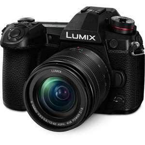 Appareil photo hybride Lumix G9 + Objectif 12-60mm