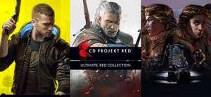 Bundle Collection Ultime Red: Cyberpunk 2077 + Witcher 1, 2 et 3 GOTY + ThroneBreaker (6 jeux) sur PC (Dématérialisés - DRM-Free)