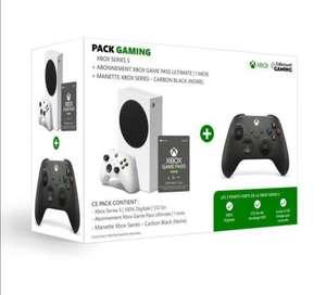 [CDAV] Console Microsoft Xbox Série S + 2e Manette + Abonnement Game Pass Ultimate - 1 Mois