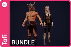 Assets Fantasy Bundle One from Tafi gratuits pour Unity (Dématérialisés) - unity.com