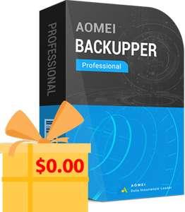Sélection de logiciels Aomei gratuits (Dématérialisés) - Ex : Aomei Backupper Pro - AomeiTech.com