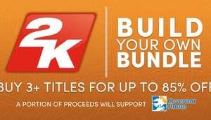 Bundle Build Your Own 2K: Sélection de réductions sur votre bundle de 3 à 5 jeux PC (Dématérialisés - Steam)