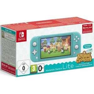 Console Nintendo Switch Lite + Animal Crossing: New Horizons + abonnement de 3 mois au Switch Online (via 99.6€ en bon d'achat) - Mios (33)