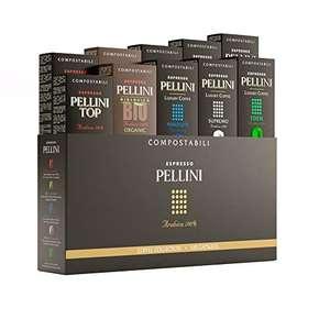 [Prime] Pack de 100 Capsules Espresso Pellini Gift Box Multipack - Compatibles Nespresso