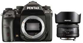 Appareil photo Pentax K-1 Mark II + Objectif 35mm F/2 AL FA HD + Objectif 100mm F/2.8 Macro WR SMC D FA