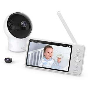 """[Prime] Babyphone avec caméra Eufy SpaceView - 720p HD, Écran LCD 5"""", Portée 140m, Grand angle, Vision nocturne (Vendeur tiers)"""
