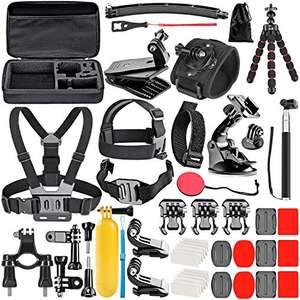 [Prime] Kit d'Accessoires 50-en-1 Neewer pour Caméra sportive (Vendeur tiers)