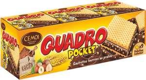 [Carte Colruyt Plus] Paquet de biscuits Cémoi Quadro Pocket - 187 g