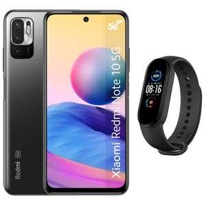 """19h à 00h : Smartphone 6.5"""" Xiaomi Redmi Note 10 5G - FHD+, Dimensity 700, 4/64Go + Bracelet connecté Mi Band 5 (+ 20.90€ en RP) - Boulanger"""