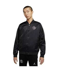 Veste Coach Jacket PSG Jordan Fourth 20/21 - Noir