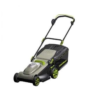 Tondeuse à gazon électrique LawnMaster - Largeur de coupe 32 cm, 1100 W, Sans batterie ni chargeur
