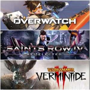 [Gold] Overwatch Origins, Saints Row IV, Warhammer Vermintide 2 jouables gratuitement ce week-end sur Xbox One & X/S (Dématérialisés)
