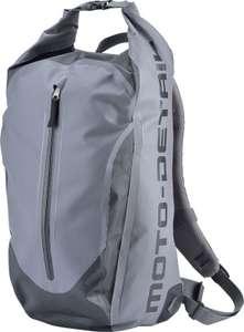 Sac à dos moto étanche Moto-Detail Drypack - 26 L, Gris