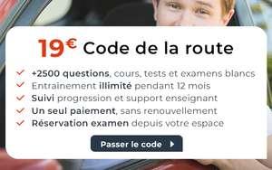 Formation au Code de la Route en ligne - auto-ecole.Cdiscount.com