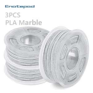Lot de 3 Bobines de Filament PLA Effet Marbre - 3x 1 Kg (Entrepôt Allemagne - 39.02€ via FRJUNE3)