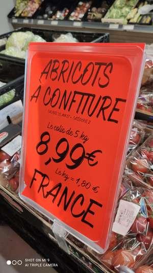 Abricots à confiture - Calibre 35mm, Catégorie 2 - 5Kg