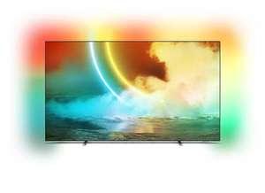 "TV 65"" Philips 65OLED705/12 - 4K UHD, OLED, Android TV, Ambilight 3 côtes"