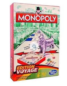 Jeu de société Monopoly version Voyage Hasbro (via 1.50 € sur la carte de fidélité)