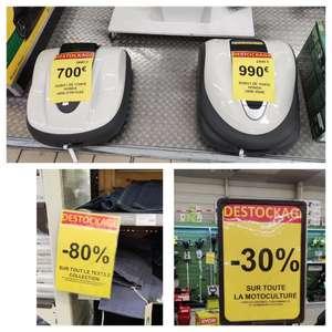 Sélection de rayons en promotion - Ex : 30% de réduction sur la Motoculture ou 80% sur le Textile Collection - La Teste-de-Buch (33)