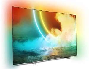 "TV 55"" Philips 55OLED705 - OLED, 4K UHD, 100 Hz, HDR 10+, Dolby Vision, Ambilight 3 côtés, Android TV (+ 31.17€ en RP) - Ubaldi"