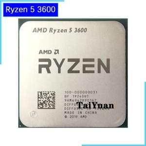 Processeur AMD Ryzen 5 3600 - Sans Ventirad)