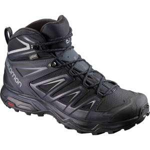 Chaussures de randonnée Salomon X Ultra 3 Mid GTX - noir/gris (du 42 2/3 au 47 1/3)