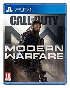 Call of Duty Modern Warfare sur PS4 et Xbox One (via retrait en magasin)