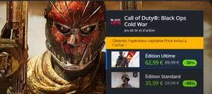 Jeu Call Of Duty : Black Ops Cold War sur PC (Dématérialisé, Battle.net)
