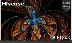 "TV 55"" Hisense 55A9G - 4K UHD, OLED, Dolby Vision iQ, HDR10+, Imax Enhanced, HDMI 2.1 (Via ODR de 200€)"