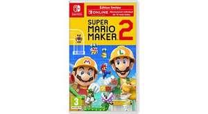 Super Mario Maker 2 Édition Limitée sur Switch (Via retrait en magasin)