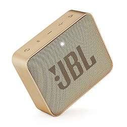 Enceinte Bluetooth JBL Go 2 (Coloris Noir ou Champagne)