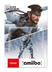 Sélection d'Amiibo en promotion - Ex : Solid Snake