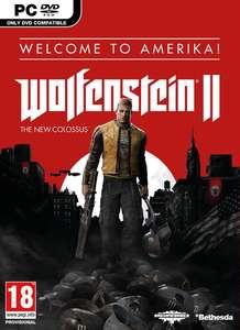 Sélection de jeux PC à 1€ - Ex: Wolfenstein II : The New Colossus (Via Retrait Magasin)